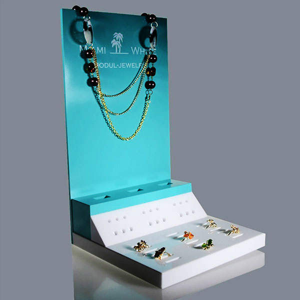 Retail Acrylic Counter Displays for jewelry. customizable